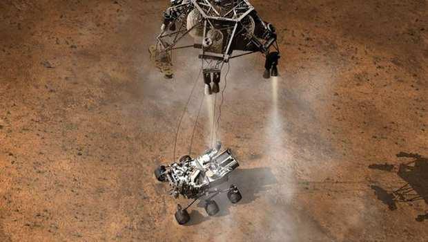 Марсоход Curiosity мог перенести жизнь на Марс