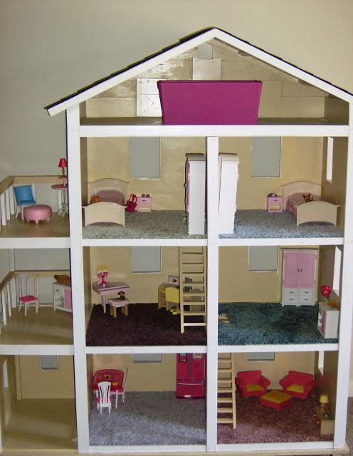 Фото дом для кукол своими руками