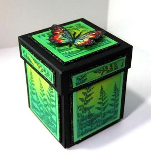 Сделать коробочку подарка своими руками