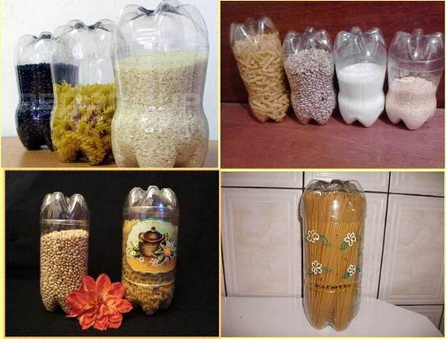 Идеи для кухни своими руками с пластиковых бутылок