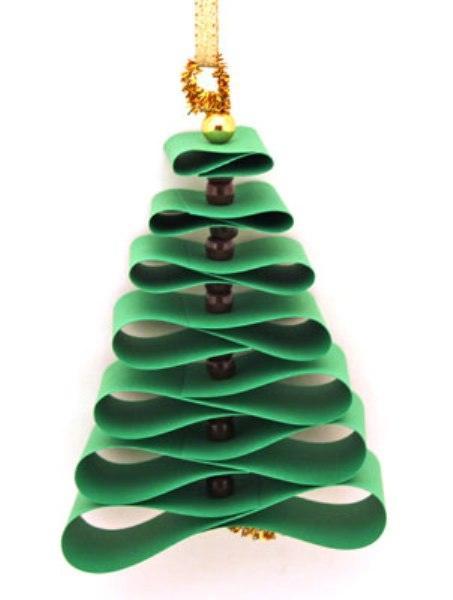 Поделка Новогодняя елка для детского сада