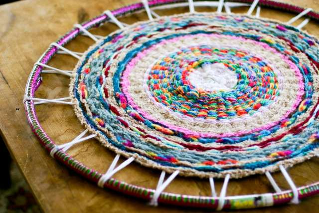 Плетение ковриков своими руками