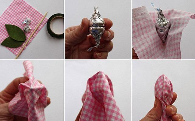 Фото конфетные букеты своими руками мастер класс фото