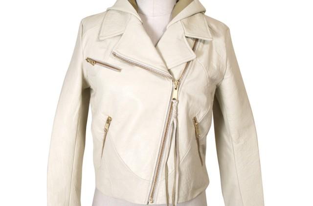 как почистить куртку из кожи: