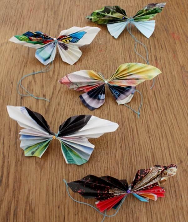 Поделки из бабочек сделанных своими руками