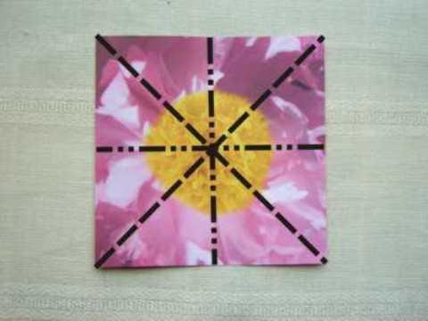 Как сделать оригами цветов.