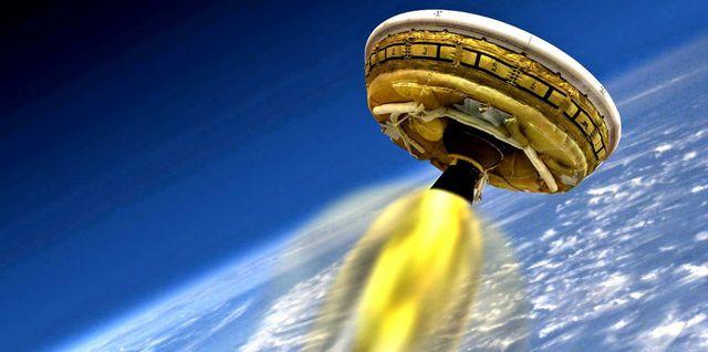 NASA закончили работу над летающей тарелкой для Марса