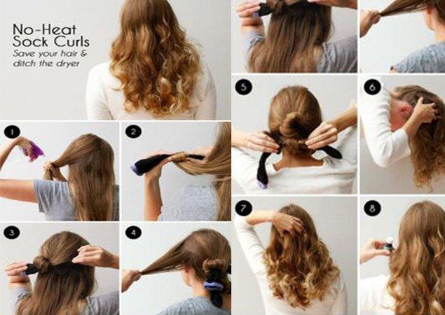 Как дома накрутить волосы