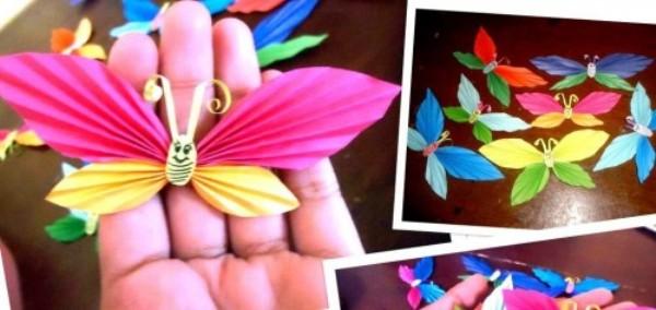 Поделки бабочки своими руками из бумаги
