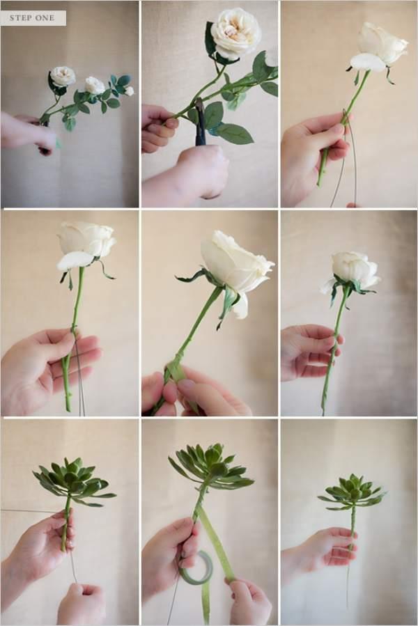 Как своими руками сделать искусственные цветы 196