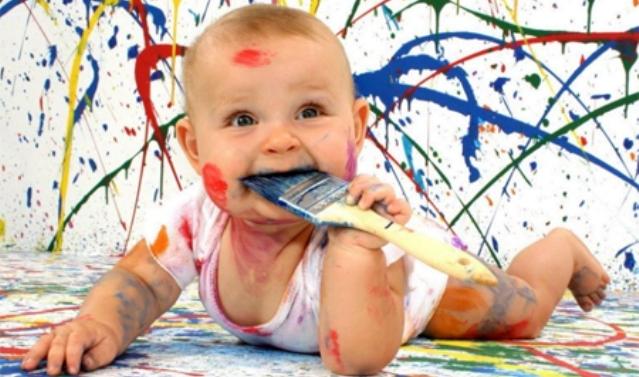 Как отмыть акриловую краску с одежды в домашних условиях