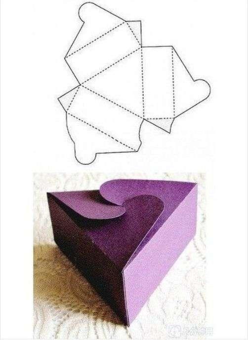 Упаковка коробочки для подарка своими руками