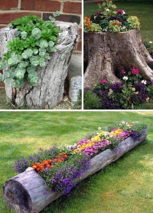 Что можно сделать не обычного в сад своими руками
