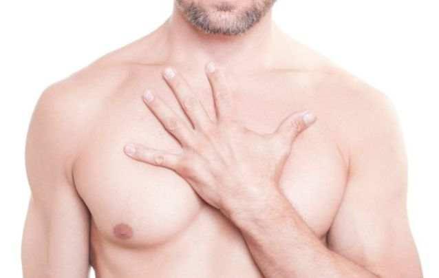 Женская грудь с розовыми сосками фото 527-847