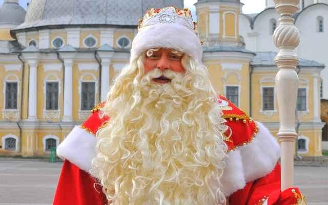 Дед мороз на афишу