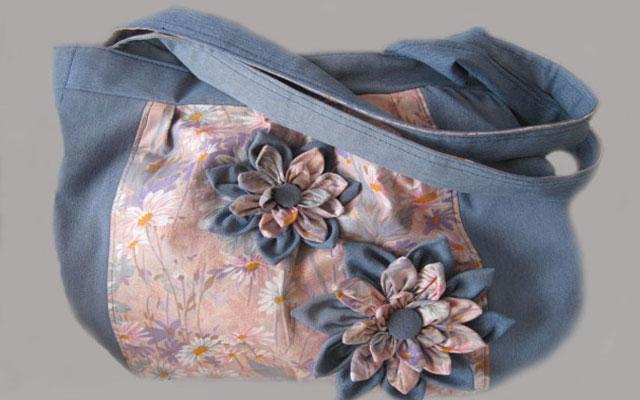 Сделать сумку из джинсов