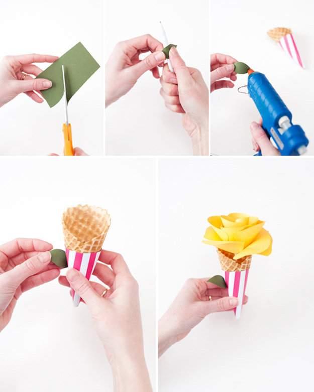 Как сделать нож из бумаги поэтапно 2