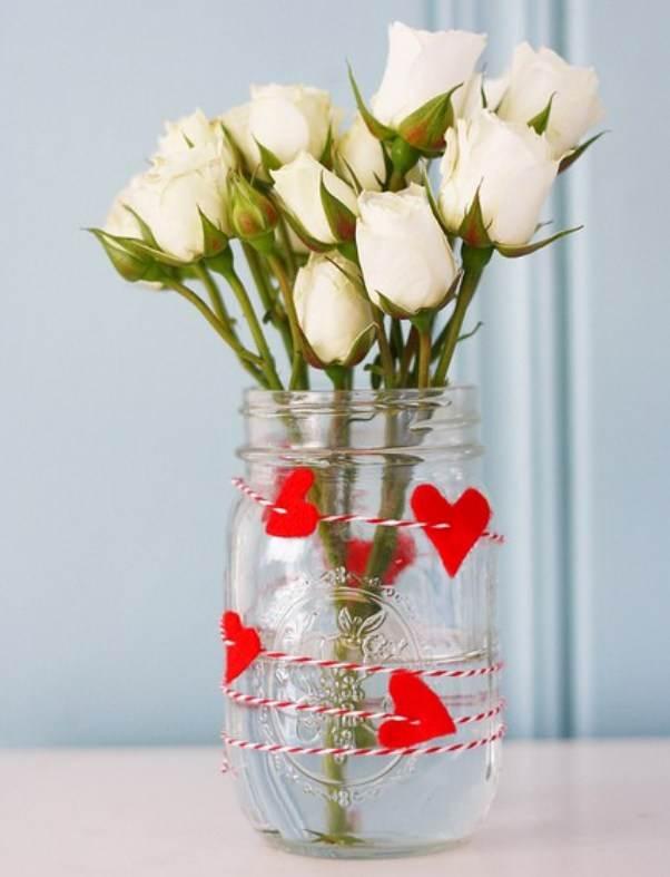 Цветы ко дню валентина своими руками 815