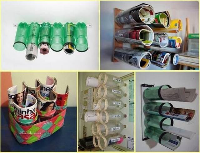 Идеи из пластиковых бутылок для кухни своими руками