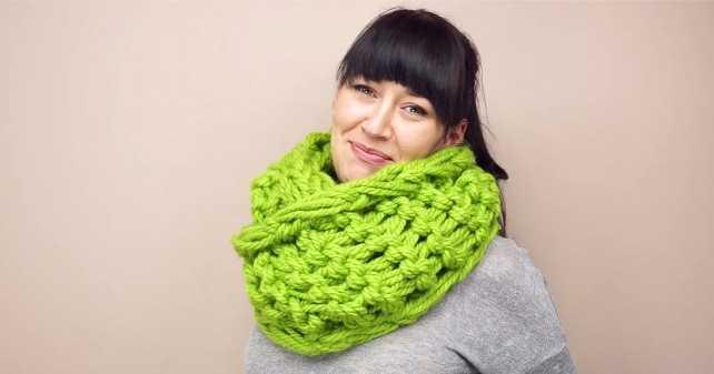 Связать шарф своими руками фото