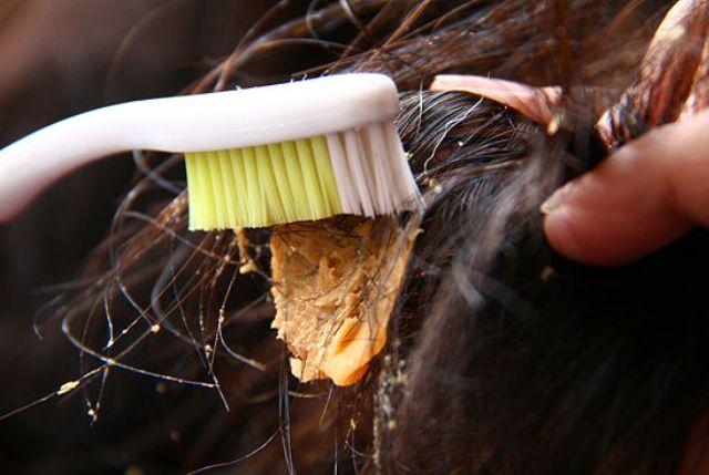 Как убрать жвачку из волос в домашних условиях