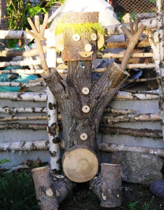 Как сделать дерево для дачи
