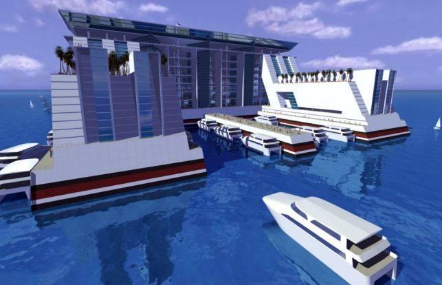Первый в мире город на воде и 10 самых больших в мире судов