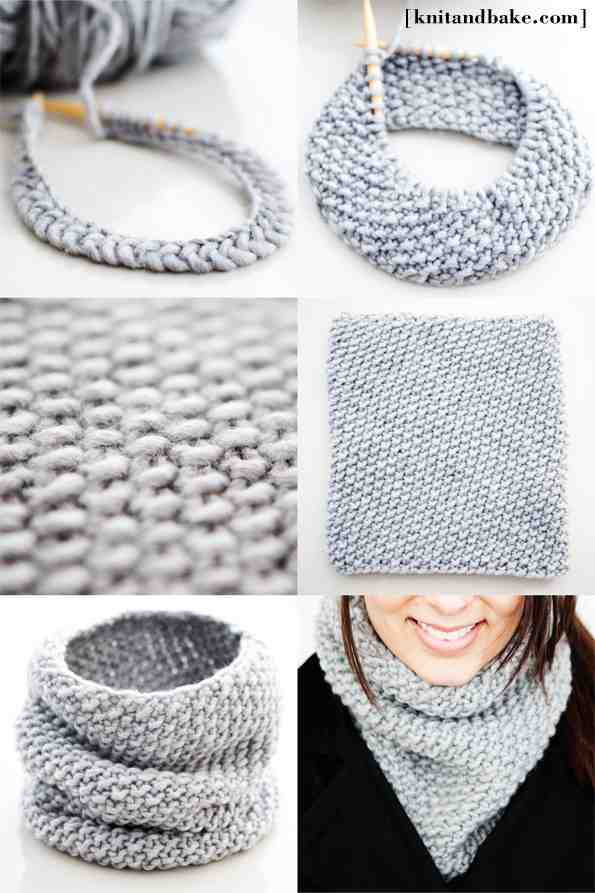 Снуд из шарфа своими руками