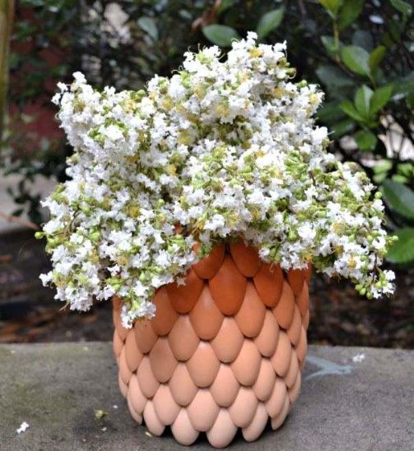 Сделать горшки для цветов своими руками из подручных материалов