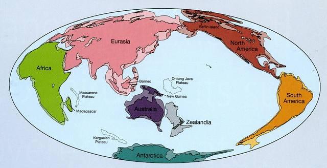 Обнаружен новый континент Земли - Зеландия
