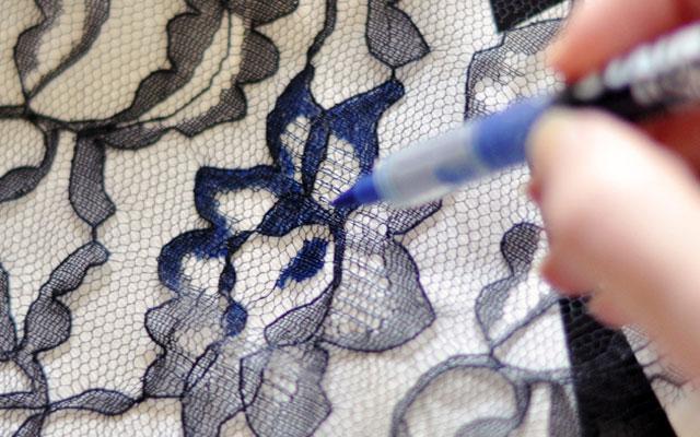 Как сделать образ ткани