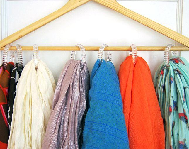 Вешалка с плечиками для одежды своими руками