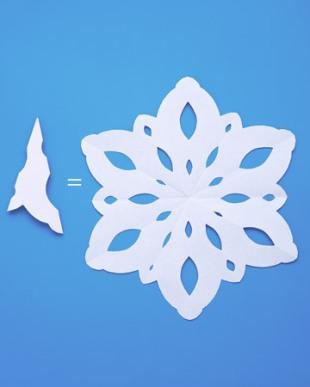Как сделать снежинку для начинающих