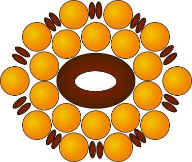 пасхальные яйца из бисера простые схемы