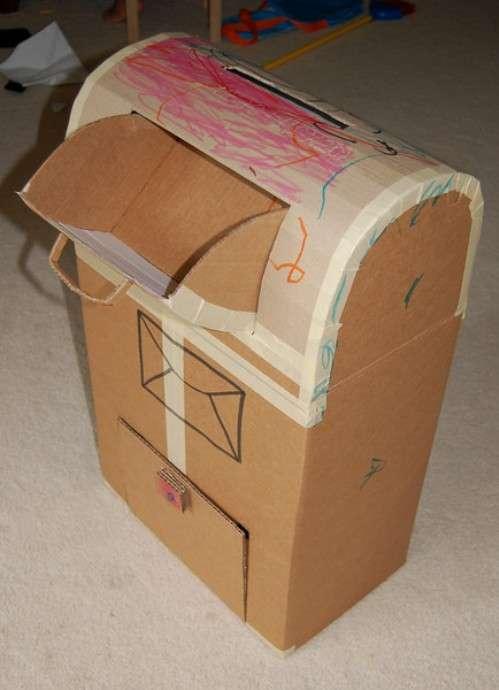 Что можно сделать из картона своими руками для детей фото