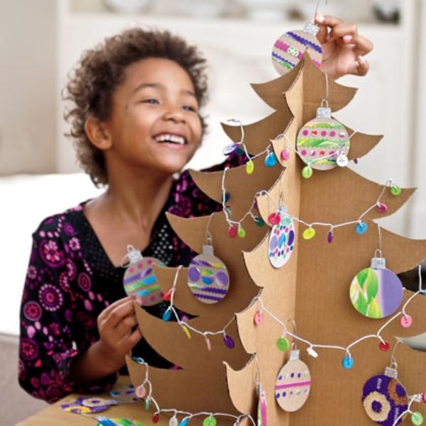 Сделать большую новогоднюю игрушку своими руками на