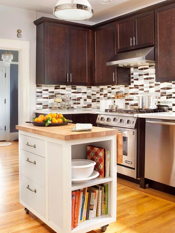 Современные идеи для маленькой кухни