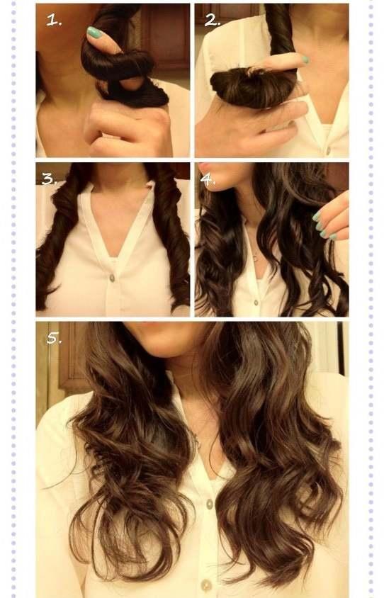 как накрутить волосы быстро и красиво
