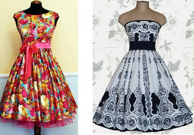 Как сшить платье в стиле ретро своими