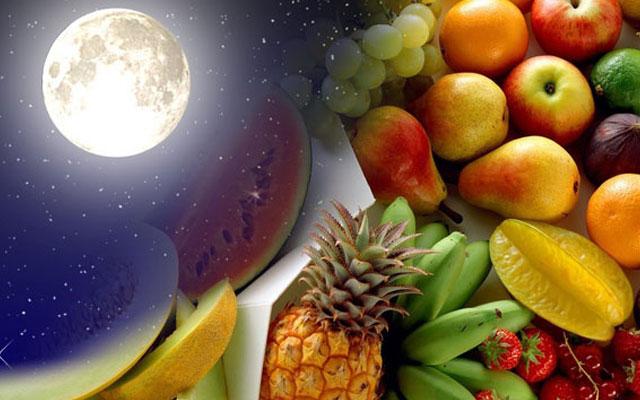 правильное питание по-лунному календарю: