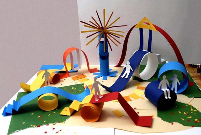 Макеты города из бумаги своими руками для детей