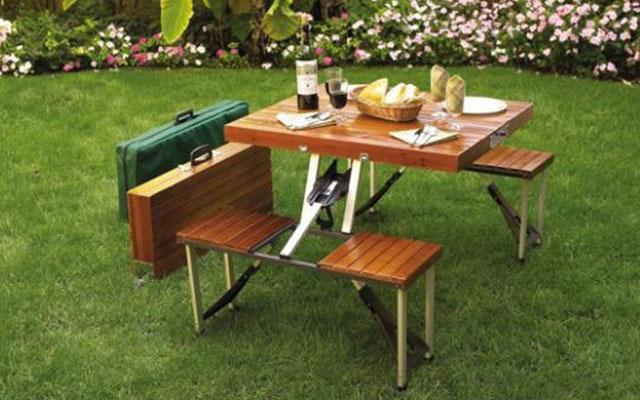 Набор для отдыха на природе стол и стулья