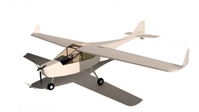 Самодельный самолет чертежи