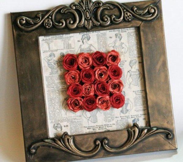 Как сделать розы из бумаги, вырезанной по спирали, мастер-класс Nancy Burke . Обсуждение на LiveInternet - Российский Сервис Онл