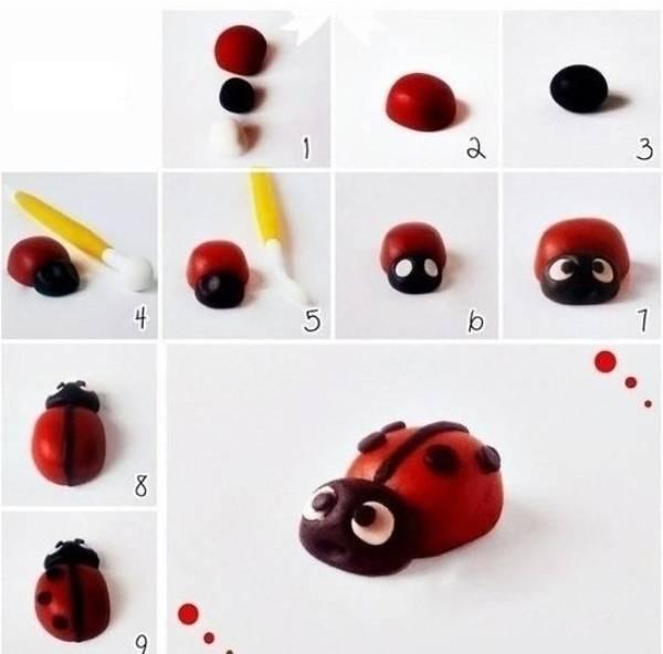 Поделки из пластилина для детей от 10 лет