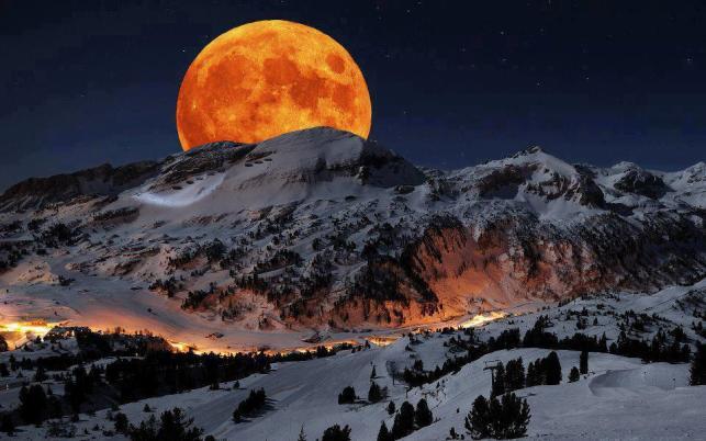Самая большая Луна будет видна в выходные