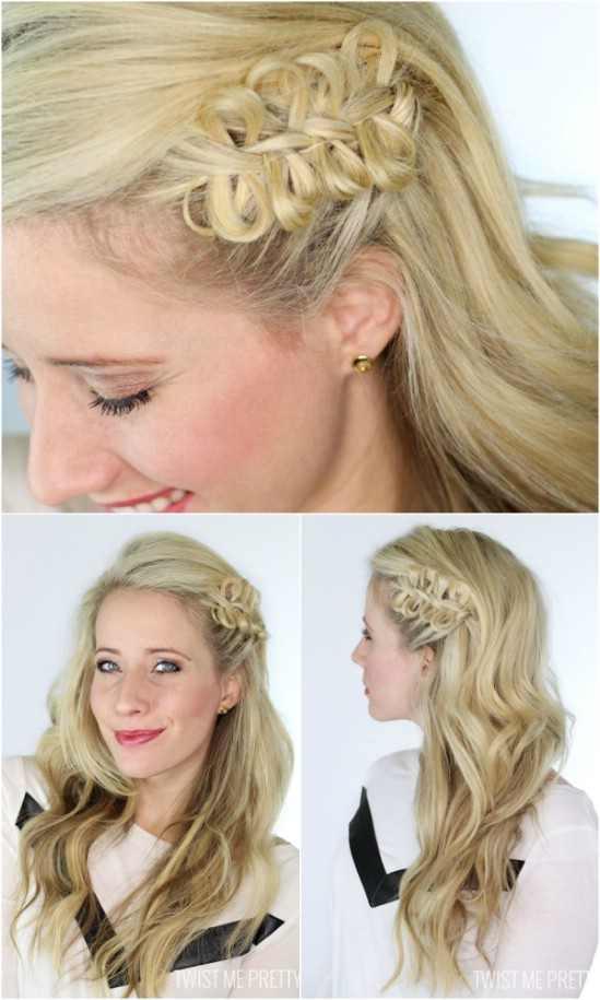 Как сделать косичку из волос видео
