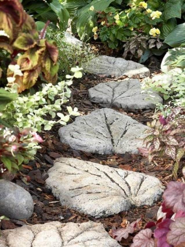 Поделки из бетона для сада своими руками фото