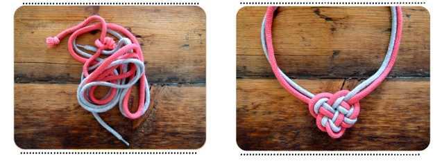Как сделать браслет из ниток с сердечками