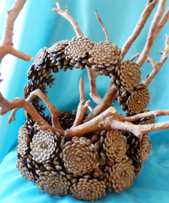 Поделки из природных материалов своими руками фото осень